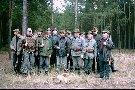 Koledzy myśliwi z Koła łowieckiego DIANA w Wolsztynie  podczas polowania zbiorowego pażdziernik 2001 r. W roku 2002 Koło Łowieckie Dnana w Wolsztynie obchodziło 50-cio lecie działalności.