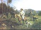 Adjukiewicz Tadeusz (ur. 1852 Wieliczka, zm. 1916 Kraków) Konstanty Branicki na polowaniu. Olej na płótnie,