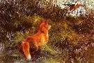 """Liljefors Bruno - """"Ucieczka przed lisem"""""""