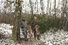W tym miocie Bogdan i ja mieliśmy szczęście, lisy mniej