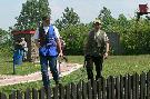 Zawody Okręgowe ZO Częstochowa, Kochcice 2007 Koledzy po zakończonym strzelaniu - skit.