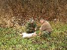 Jacek i Andrzej nad Biebrzą