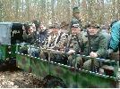 KOLEDZY Z K.Ł. ORZEŁ W CZĘSTOCHOWIE NA POLOWANIU HUBERTOWSKIM 03.11.2007