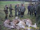 BARKOCZYN 2007 i król polowania Irek Sabisz