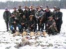 pokot po polowaniu w lesie żulin
