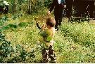 Mój Olo odtrąbił koniec polowania