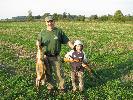 Pierwsze polowanie na koguty.