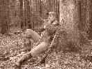 KŁ Rosochy - Krzysiek odpoczywa po polowaniu w Zagnańsku
