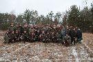 stycze� 2013 rok polowanie integracyjne z Ko�em  �owieckim